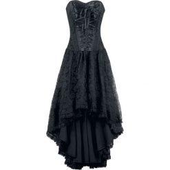 Burleska Mollflander Sukienka czarny. Brązowe długie sukienki marki Reserved, m, z gorsetem, gorsetowe. Za 446,90 zł.
