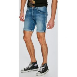 Pepe Jeans - Szorty Cane. Szare spodenki jeansowe męskie Pepe Jeans, casualowe. W wyprzedaży za 179,90 zł.