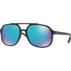 Ray-Ban - Okulary. Brązowe okulary przeciwsłoneczne męskie aviatory Ray-Ban, z materiału. Za 739,90 zł.