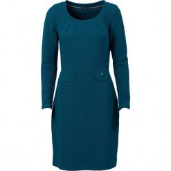 """Sukienka """"Gypsy Good Time"""" w kolorze morskim. Niebieskie sukienki marki 4funkyflavours Women & Men, l, z okrągłym kołnierzem, midi. W wyprzedaży za 195,95 zł."""