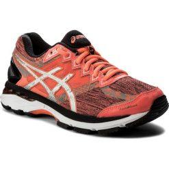 Buty ASICS - GT-2000 4 Lite-Show Plasma Guard T6F9N Flash Coral/Silver/Black. Czerwone buty do biegania damskie marki Asics, ze skóry ekologicznej. W wyprzedaży za 389,00 zł.