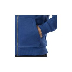 Bluzy Reebok Sport  Bluza z kapturem Elements Fleece Full-Zip. Niebieskie bluzy męskie rozpinane Reebok Sport, l, z kapturem. Za 229,00 zł.
