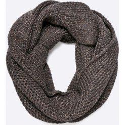 Only - Komin. Szare szaliki damskie marki ONLY, s, z bawełny, z okrągłym kołnierzem. W wyprzedaży za 99,90 zł.