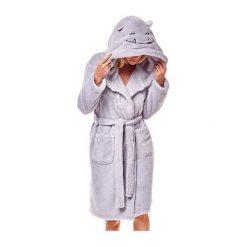 Szlafrok Miley 36174-09X Szary. Szare szlafroki kimona damskie Henderson Ladies. Za 145,90 zł.