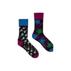 Malarskie - kolorowe skarpetki Spox Sox. Szare skarpetki męskie marki Spox sox, w kolorowe wzory. Za 20,00 zł.