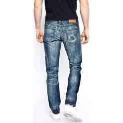 Levi's - Jeansy 511 Slim Antartic. Brązowe jeansy męskie slim marki Levi's®, z aplikacjami, z bawełny. W wyprzedaży za 299,90 zł.