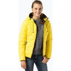 Superdry - Damska kurtka pikowana, żółty. Szare kurtki damskie pikowane marki Superdry, l, z nadrukiem, z bawełny, z okrągłym kołnierzem. Za 589,95 zł.