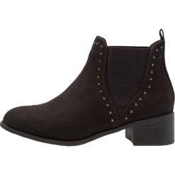 New Look 915 Generation BEAT CHELSEA Botki black. Czarne buty zimowe damskie New Look 915 Generation, z materiału. W wyprzedaży za 134,10 zł.