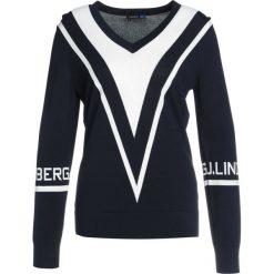 Swetry klasyczne damskie: J.LINDEBERG ERINE Sweter navy