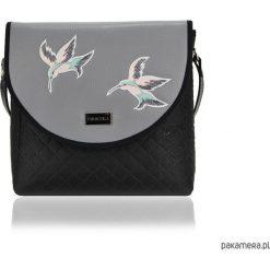 Torebki i plecaki damskie: TOREBKA PURO 1671 GRAY HUMMINGBIRD