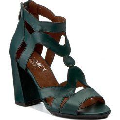 Rzymianki damskie: Sandały ANN MEX – 8059 13S  Zielony
