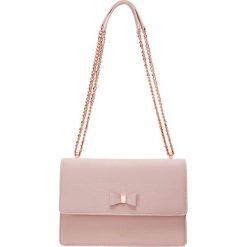 Ted Baker BOW DETAIL XBODY BAG Torebka light pink. Czerwone torebki klasyczne damskie Ted Baker. Za 719,00 zł.