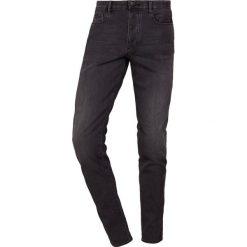 Emporio Armani Jeans Skinny Fit denim nero ch. Szare rurki męskie Emporio Armani, z bawełny. Za 719,00 zł.