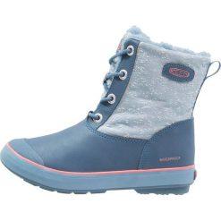 Keen ELSA BOOT WP Śniegowce captains blue/sugar coral. Czerwone buty zimowe damskie marki Keen, z materiału. W wyprzedaży za 220,35 zł.