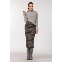 Spódniczki dzianinowe: Prążkowana spódnica
