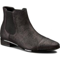 Sztyblety CALVIN KLEIN BLACK LABEL - Finilla E2559 Tin/Black. Czarne buty zimowe damskie marki Calvin Klein Black Label. W wyprzedaży za 409,00 zł.