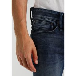 Denham BOLT Jeans Skinny Fit blue denim. Niebieskie jeansy męskie relaxed fit Denham. Za 629,00 zł.