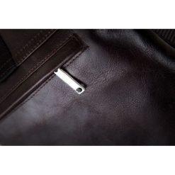 Skórzana torba na ramię / tablet VALENTIN brązowa. Brązowe torby na ramię męskie marki Kazar, ze skóry, przez ramię, małe. Za 299,00 zł.