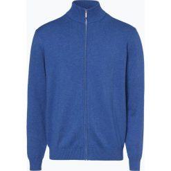 Mc Earl - Kardigan męski, niebieski. Niebieskie swetry rozpinane męskie Mc Earl, l, klasyczne, z klasycznym kołnierzykiem. Za 129,95 zł.