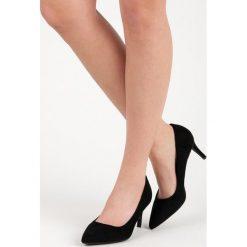 Buty ślubne damskie: CZÓŁENKA DAMSKIE NA OBCASIE MILAYA czarne