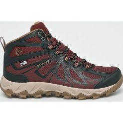 Columbia - Buty. Szare buty trekkingowe męskie Columbia, z gumy, na sznurówki, outdoorowe. W wyprzedaży za 449,90 zł.