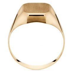 Piękny Złoty Pierścionek - złoto żółte 585 - 2