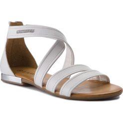 Rzymianki damskie: Sandały LASOCKI - WI16-ELSA-04 Biały
