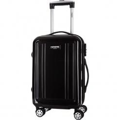 Walizka w kolorze czarnym - 74 l. Czarne walizki Bagstone & Travel One, z materiału. W wyprzedaży za 299,95 zł.