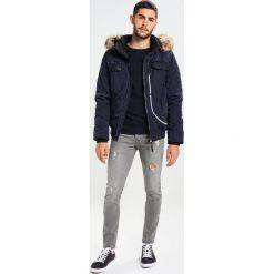 Jeansy męskie regular: Solid DEXTER  Jeans Skinny Fit grey denim
