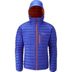 Kurtki sportowe męskie: RAB Męska Kurtka Puchowa Microlight Alpine Jacket Czarna r. XXL
