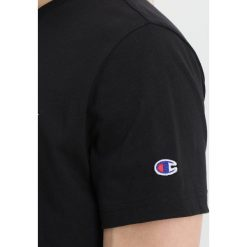 T-shirty męskie: Champion Reverse Weave CLASSIC APPLIQUE TEE Tshirt basic black