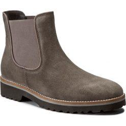 Sztyblety GABOR - 71.680.49 Lupo. Szare buty zimowe damskie marki Gabor, z materiału, na obcasie. W wyprzedaży za 339,00 zł.