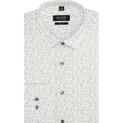 Koszule męskie: koszula versone 2835 długi rękaw slim fit szary
