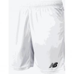 Spodenki treningowe EMS6130WT. Szare spodenki sportowe męskie marki New Balance, m, z materiału, do piłki nożnej. Za 79,99 zł.