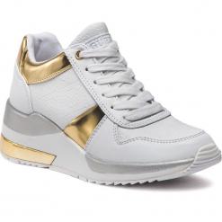 Sneakersy GUESS - FLJAT4 FAL12 WHITE. Czarne sneakersy damskie marki Guess, z materiału. Za 529,00 zł.