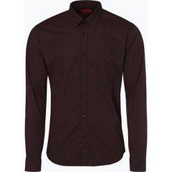 HUGO - Koszula męska – Elisha01, czerwony. Niebieskie koszule męskie na spinki marki HUGO, m, z bawełny. Za 399,95 zł.