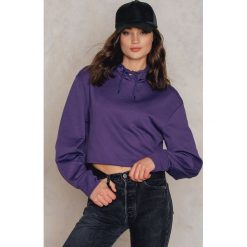 Bluzy damskie: Cheap Monday Bluza z kapturem Attract – Purple