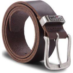 Pasek Męski TOMMY JEANS - Tjm Metal Loop Belt AM0AM03491 85 254. Brązowe paski męskie Tommy Jeans, w paski, z jeansu. Za 229,00 zł.