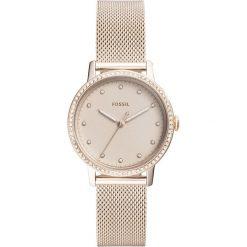 Fossil - Zegarek ES4364. Różowe zegarki damskie marki Fossil, szklane. Za 599,90 zł.