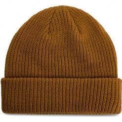 Czapka VANS - Core Basics Bea VN000QQWRBT Rubber. Brązowe czapki zimowe damskie marki Vans, z materiału. Za 79,00 zł.