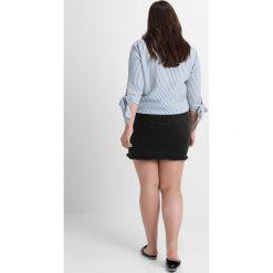 Minispódniczki: Missguided Plus MINI RIPPED SKIRT Spódnica jeansowa black