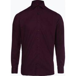 Finshley & Harding - Koszula męska, czerwony. Szare koszule męskie na spinki marki S.Oliver, l, z bawełny, z włoskim kołnierzykiem, z długim rękawem. Za 129,95 zł.