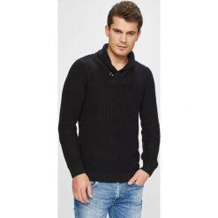Jack & Jones - Sweter. Szare swetry klasyczne męskie Jack & Jones, l, z bawełny. Za 169,90 zł.