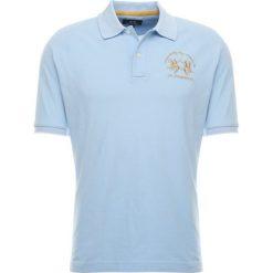 La Martina MIGUEL Koszulka polo blue bell. Niebieskie koszulki polo La Martina, m, z bawełny. Za 419,00 zł.