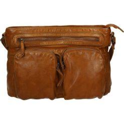 Torba - 4203352 COGNA. Żółte torebki klasyczne damskie Venezia, ze skóry. Za 439,00 zł.