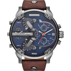 Zegarek DIESEL - Mr Daddy 2.0 DZ7314 Dark Brown/Gunmetal. Brązowe zegarki męskie Diesel. Za 1399,00 zł.