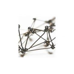 Naszyjniki damskie: Długi geometryczny naszyjnik ze stali szlachetnej d6cc22