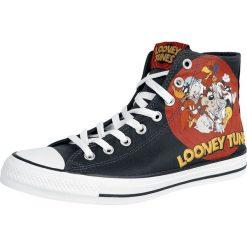 Converse Looney Tunes - Multi-Character Record Logo Buty sportowe czarny. Czarne buty sportowe męskie marki Converse. Za 199,90 zł.