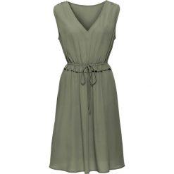 Sukienki: Sukienka bez podszewki bonprix oliwkowy