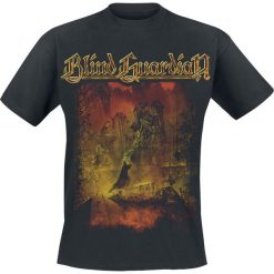 Blind Guardian Tales From The Twilight World T-Shirt czarny. Czarne t-shirty męskie z nadrukiem Blind Guardian, xl, z okrągłym kołnierzem. Za 94,90 zł.